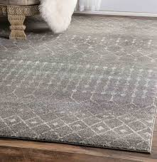 alluring gray area rugs at andover mills anzell blue rug reviews wayfair