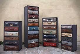 Repurposed Luggage Furniture