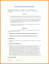 Service Agreement 24 Service Agreement Contract Lease Template 3