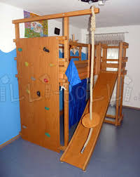 bunk bed with slide. Simple With Office Breathtaking Wood Loft Bed With Slide 9 Kletterwand Und Rutschenturm  R15228 Wood Loft Bed With To Bunk 7