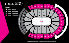 Verizon Center Seating Chart For Hockey Arena Maps T Mobile Arena