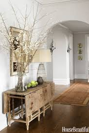 rustic and refined decor style. House Beautiful