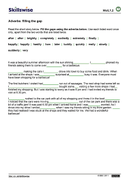 Adverbs: filling the gap