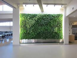 industrial plant interior design  Living Wall ...