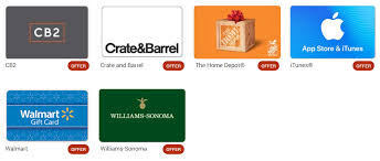 redeem membership rewards on gift cards