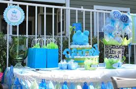 Baby Shower Photo Album Ideas  Home Design InspirationsBaby Shower Party Table Decorations