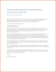 Sample Recommendation Letter For Student 107747337 Png