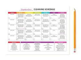 house cleaning schedule daily weekly monthly daily weekly monthly cleaning checklist house cleaning daily weekly monthly