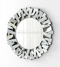 Small Picture Large Contemporary 3d Decorative Wall Mirror Buy Round Glass