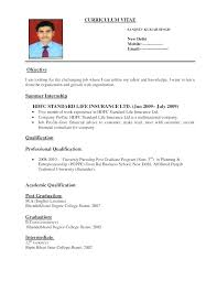 Sample Employment Resume Job Application Resume Template Examples Cv Samples Pdf