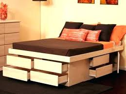 king platform bed with storage drawers. Bed Platform With Drawers Storage Ideas Outstanding King .