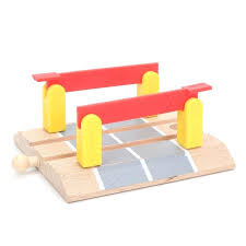 diy wooden train table wooden train slot track railway accessories railroad crossing intersection bridge track for diy wooden train table