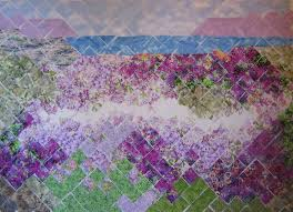 Nuibe Family - Needlework Projects & The finished quilt is about 23
