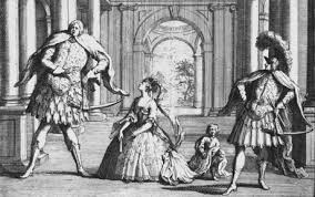 through the lens of a baroque opera gender sexuality then and now  figure 1 gaetano berenstadt left and senesino right flank sca cuzzoni in a 1723 caricature by john vanderbank of handel s falvio kelly 2004 43