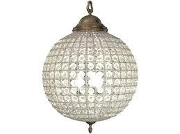 wood globe chandelier distressed