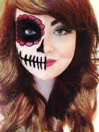 15 half face makeup simple