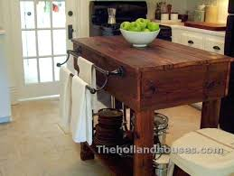 rustic kitchen island table with seating diy