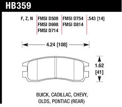 Hawk Performance Hb359z 543 Pc