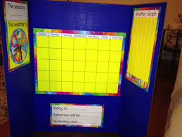 Tri Fold Calendar Weather Chart Diy With A Kit From