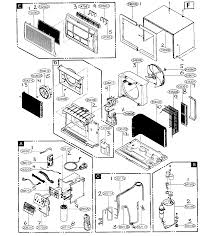 Friedrich model us10b10a air conditioner room genuine parts rh searspartsdirect ac motor wiring diagram basic