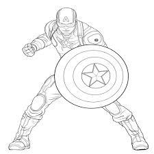 Pagine Da Colorare Stampabili Disegni Da Colorare Degli Avengers