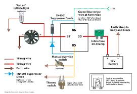 relay wiring diagram for electric fan relay image derale relay wiring diagram wiring diagram schematics on relay wiring diagram for electric fan
