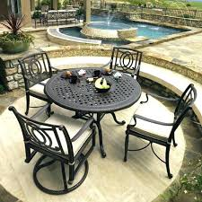 metal patio table and chairs outdoor patio table sets patio round table and chairs round table