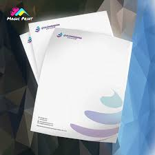 Letterhead Printing Customized Letterhead Create Your Own Design With Logo And Slogan