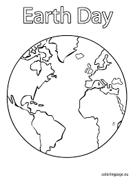 Small Picture Coloring Page Earth Pages Free Printable Pdf For Kids To Print