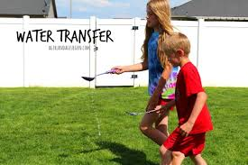 outdoor water games for kids. Water Transfer--fun Summer Games Outdoor For Kids S