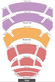 Cobb Energy Performing Arts Center Seating Chart Atlanta