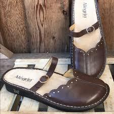 alegria shoes alegria tuscany mary jane clog 40