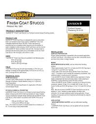 Quikrete Stucco And Mortar Color Chart Finish Coat Stucco
