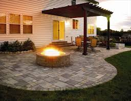 Patio Design Ideas With Fire Pits more deck ideas kind of like this idea for exposed basement patio