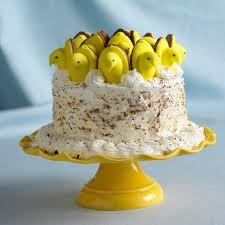 Make Your Own Peeps Lemon Curd Cake