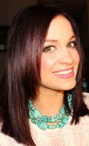 Dark Brown Red Tint Hair Color