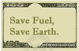 Save fuel save money essay