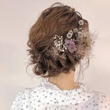 ボブヘアさん向け結婚式のお呼ばれ髪型特集2019年最新ヘアアレンジ