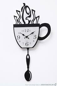 perfect designer wall clock and 15 excellent designs of kitchen wall clocks home design lover