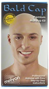 mehron makeup premium character kit bald cap by mehron