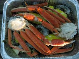 Campfire Crab Seafood Bake