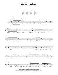 wagon wheel sheet music buy darius rucker sheet music rucker darius music scores