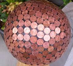 Bowling Ball Decorations Mesmerizing How To Make A Penny Bowling Ball House Of Hawthornes