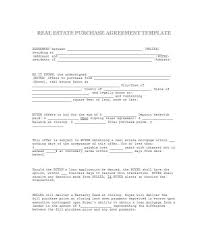 House Contract Form Free Residential Purchase Agreement Template For Word Offer