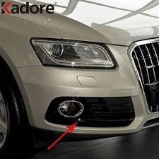 Audi Q5 Fog Light Bulb Type Us 52 86 17 Off For Audi Q5 2013 2016 Abs Front Lower Bumper Racing Grill S Line Sline Fog Light Lamp Grille Cover Frame Exterior Accessories In