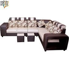 Sofa set Furniture Buyhatke Solid Wooden Best Quality Seater Lshape Sofa Set Multicolor