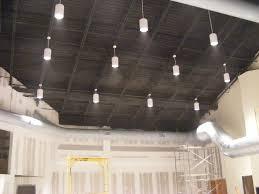 exposed lighting. Exposed Ceiling Lighting Basement Industrial Black. Stunning Inspiring Rafters For Home Design Ideas Terrific D