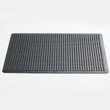 anti fatigue single dome mat black