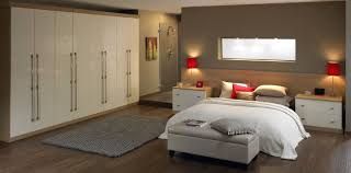 modern fitted bedroom furniture. White-Fitted-Bedroom-Furniture-Leeds-With-Small-Storage- Modern Fitted Bedroom Furniture