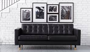 Small Picture Leather Sofas Modern Contemporary IKEA